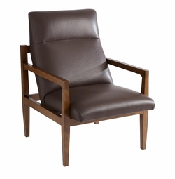 Carlsburg Modern Chair in Leather
