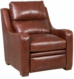 Carson Chair American Made Leather Bradington-Young