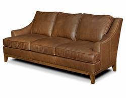 American Naturals Leather Sofa