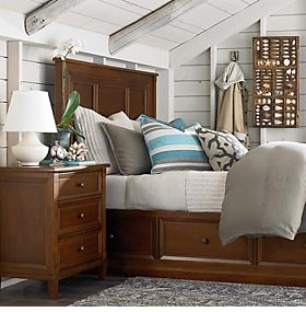Chatham Panel Storage Bed