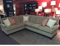 Cindy Sectional Sofa by Robin Bruce