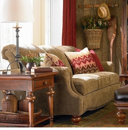 Club Room Sofa by Bassett Furniture
