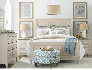 Commonwealth Panel Bed in Toasted Almond by Bassett