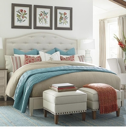 Commonwealth Upholstered Bed by Bassett