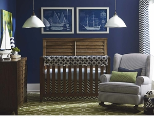Compass Convertible 4 in 1 Crib By Bassett Furniture