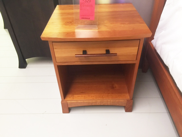 Copeland Nightstand in Solid Cherry
