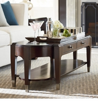 Cosmopolitan Long Cocktail Table by Bassett