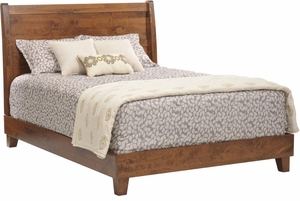 Crossan Amish Sleigh Bed
