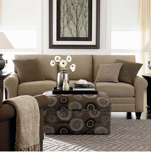 HGTV CU2 Custom Sofa by Bassett Furniture