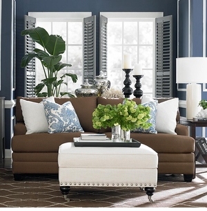HGTV CU2 Custom Sofa Track Arm by Bassett Furniture