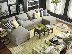 CU2 Double Chaise Sectional by Bassett