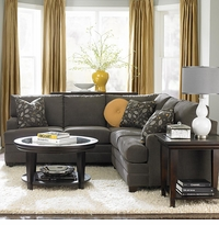 Custom Sectional Track Arm by Bassett Furniture