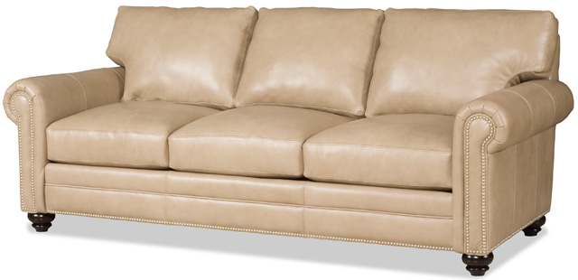 Daire Leather Sofa by Bradington-Young