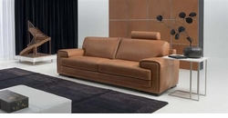 Dallas Leather Sofa by Natuzzi Italia