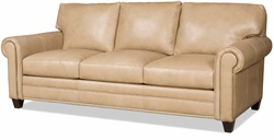 Daylen Leather Sofa by Bradington-Young