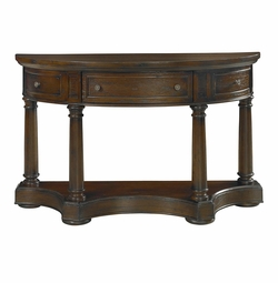 Demilune Console Table by Bassett Furniture