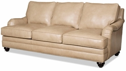 Derring Leather Sofa by Bradington-Young