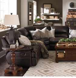 Dillon Motion Sectional by Bassett Furniture