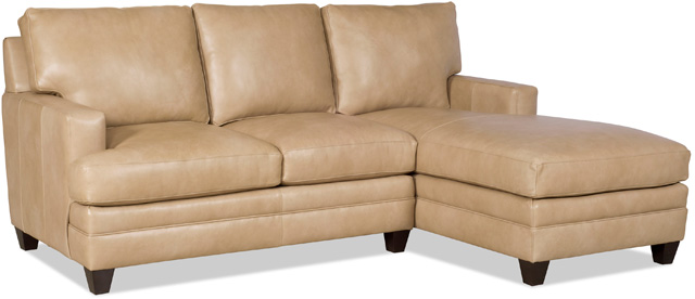 Donnelly Leather Sectional by Bradington-Young
