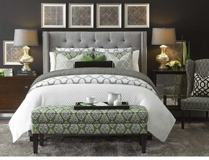 Dublin Upholstered Bed by Bassett