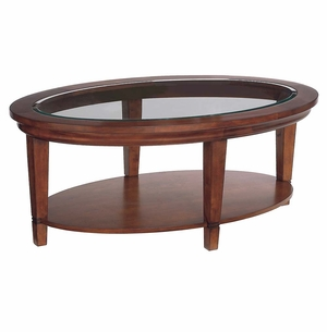Easton Oval Coffee Table by Bassett Furniture