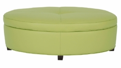 Ellipse Storage Ottoman by Norwalk Furniture