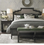 Emporium Upholstered Bed By Bassett Furniture