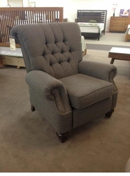 Flexsteel Tufted Chair Recliner with Tall Back