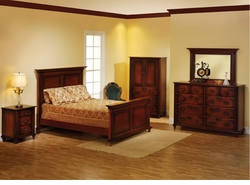 Fur Elise Amish Bedroom Collection