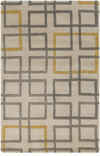 Geometry Wool Rug art238