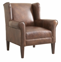 Georgia Leather Chair by Bassett Furniture