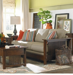 Grove Park Sofa by Bassett Furniture