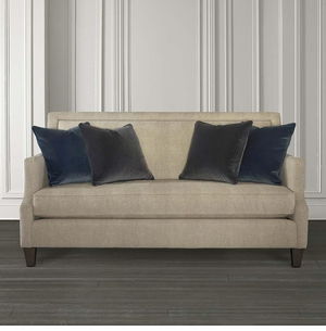 Halston Sofa with Nailheads by Bassett