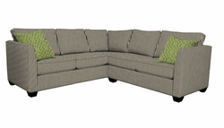 Heather Sectional Sofa by Norwalk Furniture