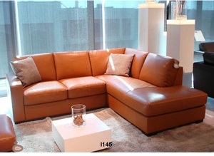 I145 Italsofa leather sectional