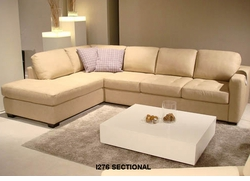 i276 Italsofa leather sectional