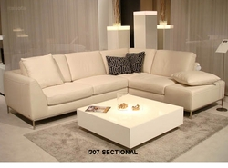 I307 Italsofa leather sectional sofa
