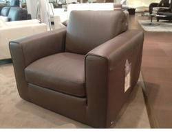 Italsofa i355 Leather Armchair Floor Model