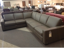 Italsofa Large Leather Sectional Sofa