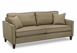 jackson small arm modern sofa