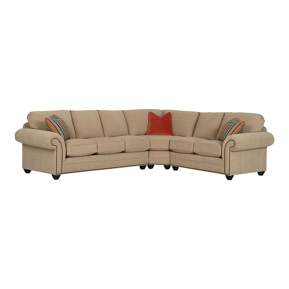 16+ [ Bradington Young Leather Sectional Sofa ...