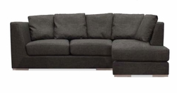 leo contemporary sectional sofa