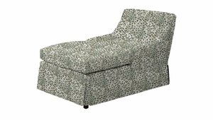 Linda Skirted Chaise Lounge by Norwalk Furniture