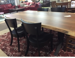 Live Edge Amish Dining Set