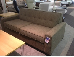 Made in the USA Modern Sofa Floor Model
