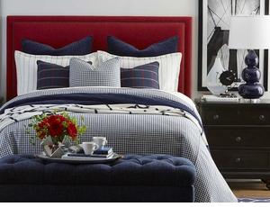 Manhattan Upholstered Headboard by Bassett