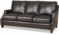 Melbourne Leather Sofa by Bradington-Young