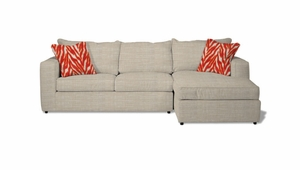 Milford Sectional Sofa by Norwalk Furniture