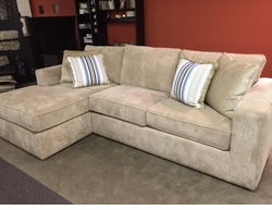 Milton Sectional Sofa by Norwalk Furniture