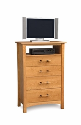 Monterey 4 Drawer Chest and TV Organizer